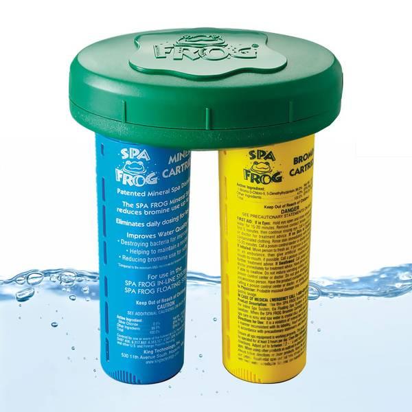 SpaFrog Floating System (komp. m/ mineral- og brominpatron)